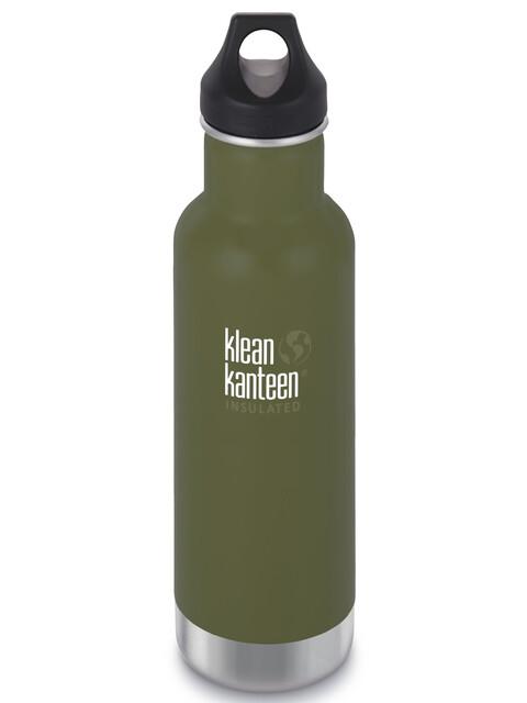Klean Kanteen Classic Bottle Vacuum Insulated 592 ml w/ Loop Cap fresh pine